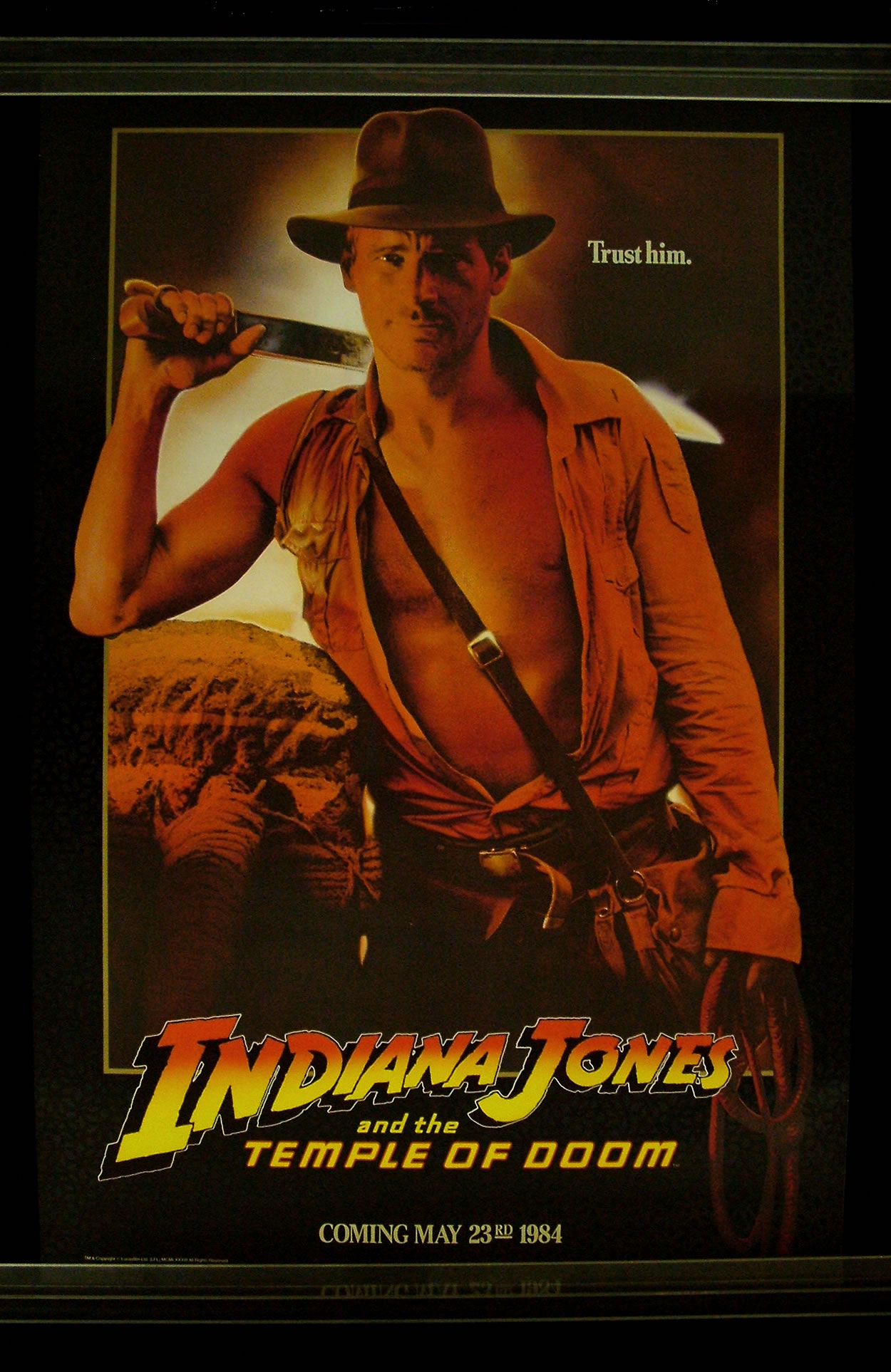 ジョーンズ 伝説 宮 インディ 魔 の